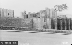 Caerphilly, The Castle c.1950
