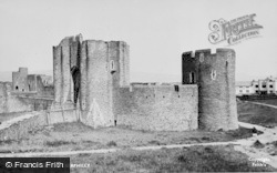 Caerphilly, The Castle c.1955