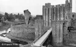 Caerphilly, The Castle c.1960
