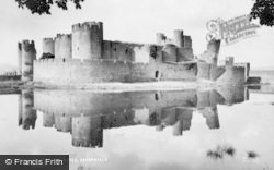 Caerphilly, The Castle c.1965