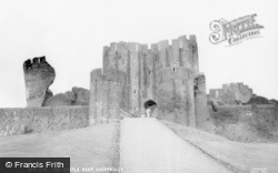 Caerphilly, The Castle Keep c.1965