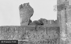 Caerphilly, The Leaning Tower c.1960