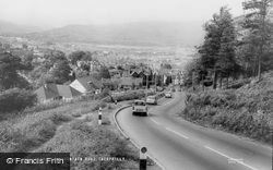 Caerphilly, View From Mountain Road c.1965