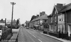 Caersws, Bridge Street And Post Office c.1960