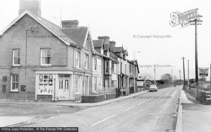 Photo of Caersws, Bridge Street c.1960