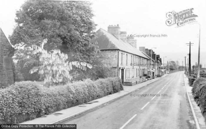 Photo of Caersws, Bridge Street c.1960