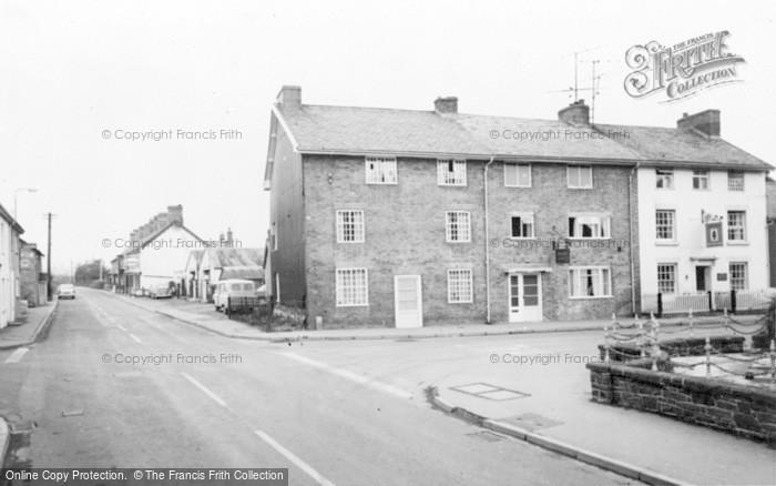 Photo of Caersws, Cross Road c.1960