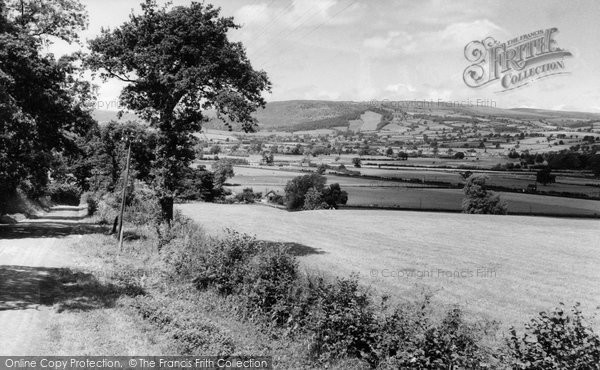 Photo of Caersws, General View c.1960