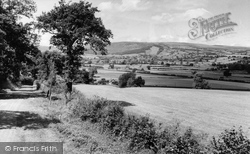 Caersws, General View c.1960