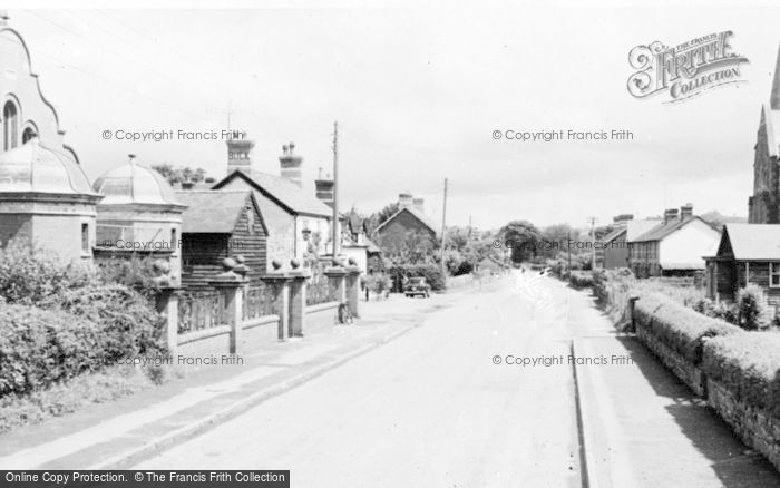 Photo of Caersws, Main Street c.1955