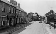 Caersws, Main Street c1955