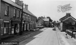 Caersws, Main Street c.1955
