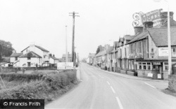 Caersws, Main Street c.1960