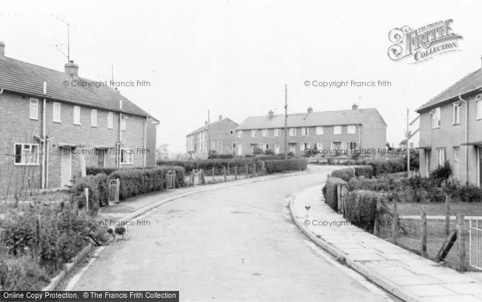 Photo of Caersws, The Estate c.1960