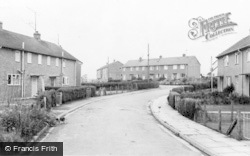 Caersws, The Estate c.1960