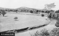 Caersws, The River c.1955