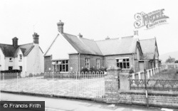 Caersws, The School c.1960
