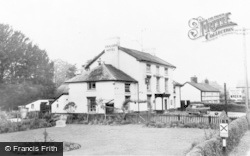 Caersws, The Unicorn Hotel c.1960