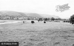 Caersws, The Valley From Maeshafren c.1955