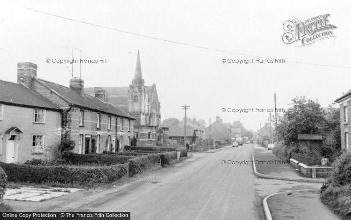 Photo of Caersws, The Village c.1960