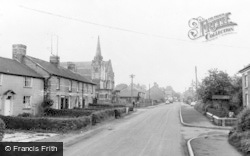 Caersws, The Village c.1960