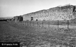 Caerwent, The Roman Wall 1949