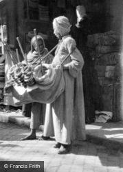 A Bread Seller c.1935, Cairo
