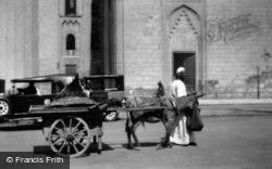 A Donkey Cart c.1935, Cairo