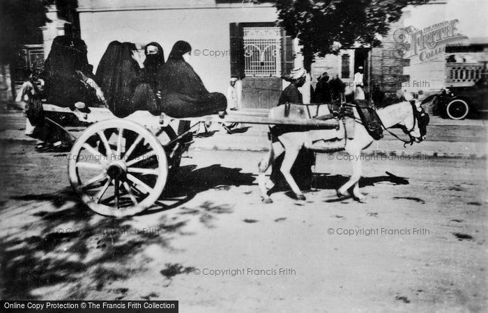 Photo of Cairo, A Donkey Cart c.1935