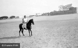 A Horseman c.1935, Cairo