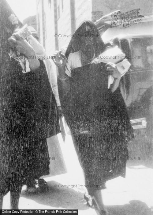 Photo of Cairo, A Lady Shopping c.1935