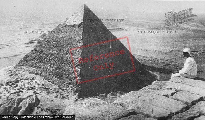 Photo of Cairo, A Pyramid c.1935