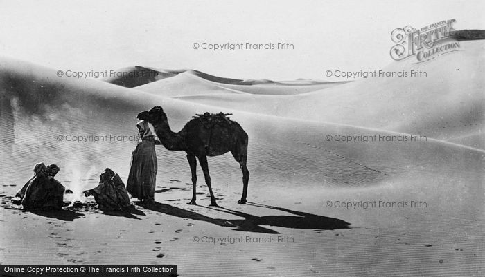 Photo of Cairo, A Rest In The Desert c.1930