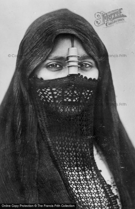 Photo of Cairo, A Veiled Woman c.1935