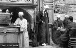An Arabian Coffee Stall c.1935, Cairo