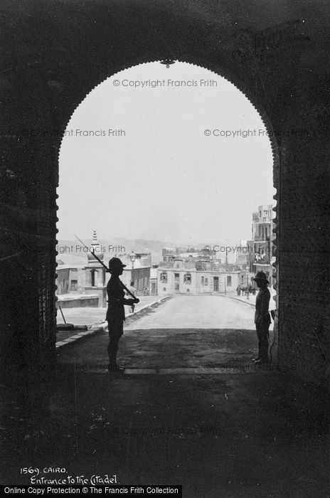 Photo of Cairo, Entrance To The Citadel c.1930