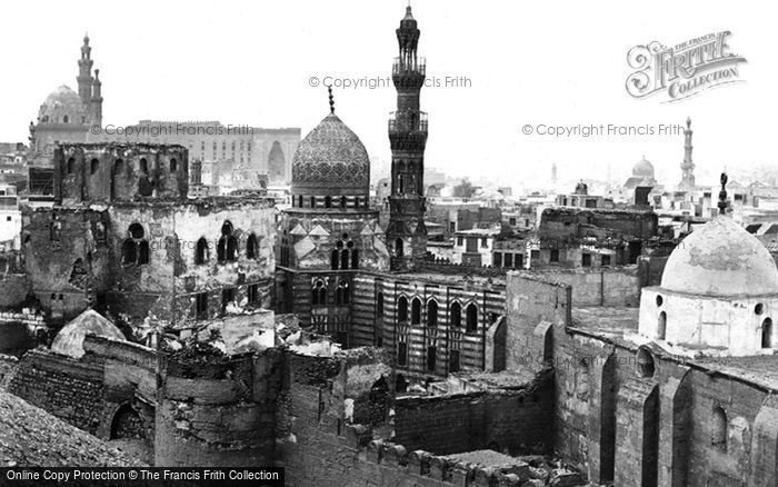 Photo of Cairo, From The East 1858