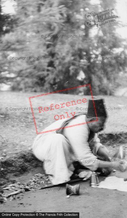 Photo of Cairo, Man Wearing Fez c.1935