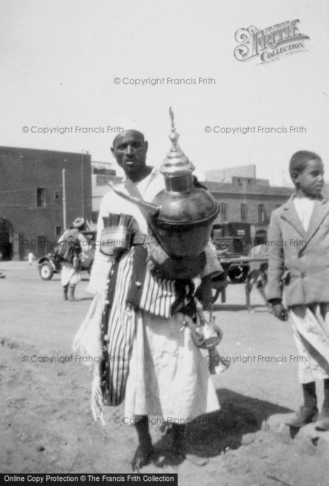 Photo of Cairo, Man With Urn c.1935