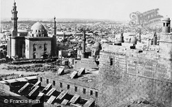 Mosque Of The Sultan Hasan From The Citadel 1857, Cairo