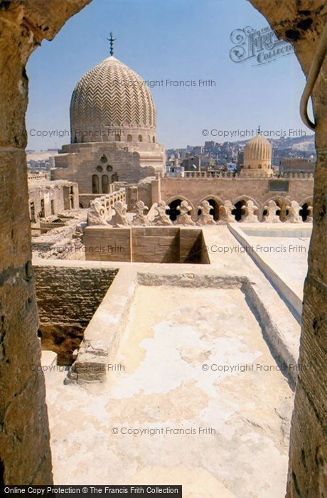 Photo of Cairo, Mosque Roof Today 2004