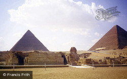 Pyramids And The Sphinx 1982, Cairo