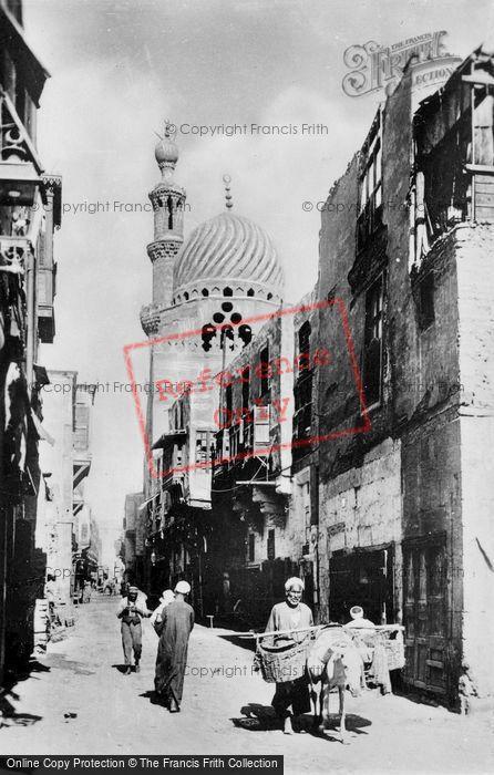 Photo of Cairo, Street Scene c.1935