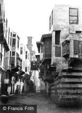 Cairo, street view 1858