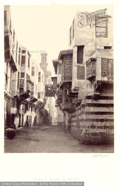 Photo of Cairo, Street View 1858