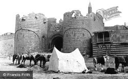 Cairo, The Bab El-Azab, Citadel Gateway 1858