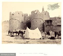 Cairo, The Bab El-Azab, Citadel Gateway 1858