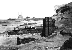 Cairo, The Citadel And Mosque Of Mohammed Ali 1859