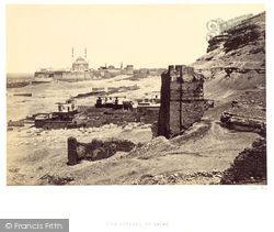 Cairo, The Citadel And Mosque Of Muhammed Ali 1859