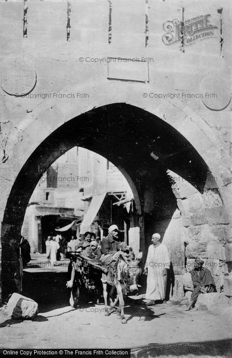 Photo of Cairo, The Gate Of Kait Bey c.1935